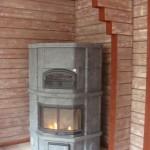 Печь-камин с духовкой Tulikivi  мод. KTLU 2037/91 (Финляндия)