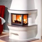 Masonry stove Contura 460 low