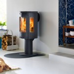 Stove Contura 586 with Louvred steel top