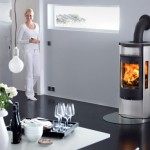 Stove Contura 655A with log store