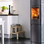 Soapstone stove 590T with soft closing door
