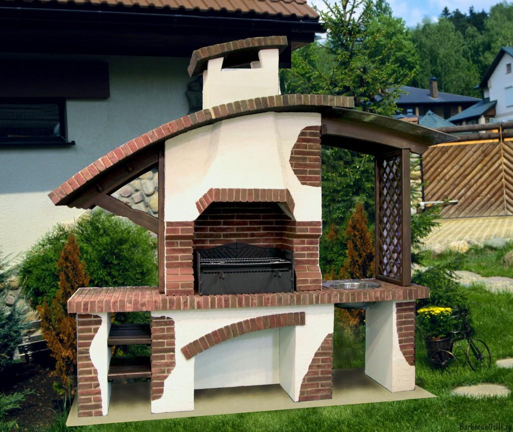 Уличный гриль из кирпича для дачи: фото, какая печь лучше и как 77