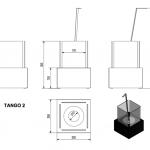 Биокамин TANGO 2 _1