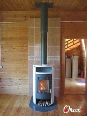 установка печей в деревянном доме